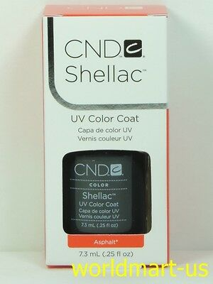 CND Shellac GelColor UV/LED: #40531_Asphalt 0.25fl.Oz