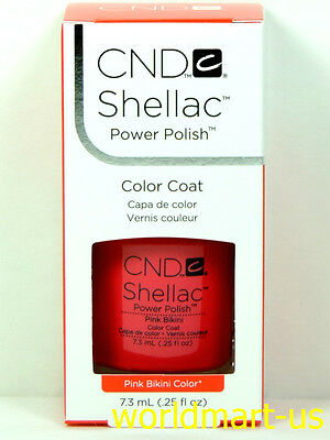 CND Shellac GelColor UV/LED: #09944_Pink Bikini 0.25fl.Oz