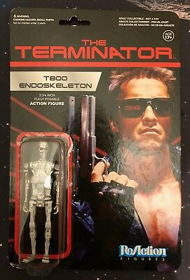 Funko Reaction Figures TERMINATOR LOT OF 5 figures Sarah Connor, T800 +more NEW