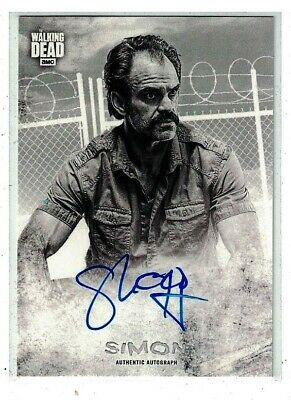 🔥  2018 Topps Walking Dead Hunters & The Hunted  Auto Sp!  SIMON 🔥