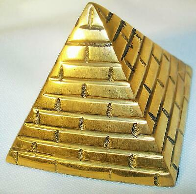 "Solid Brass Pyramid 2"" Buy 1 Get 2nd 1  50% Off Any Solid Brass Item"