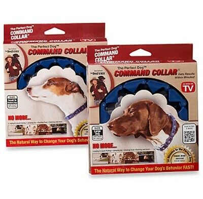 NEW Don Sullivan Perfect Dog Command Collar with Extra Links and DVD Large