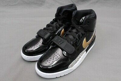 82d1c6f7dceb NIKE AIR JORDAN Legacy 312 - Black metallic Gold white Av3922-007 ...