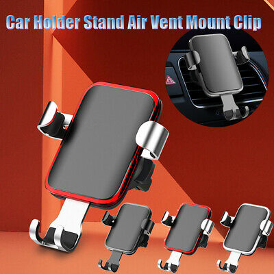 1PC Auto Universal Car Holder Stand Air Vent Mount Clip Cell Mobile Phone Holder