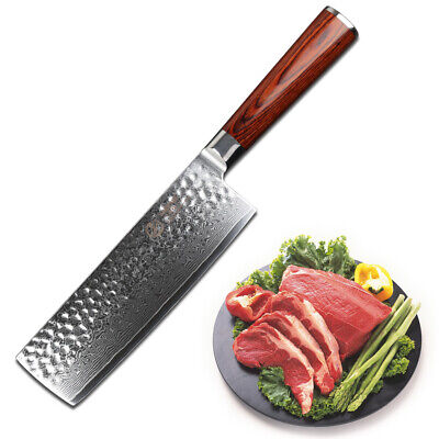 Yarenh Professional Vegetable Knife 6.5 inch,Japanese Damascus Steel chef knife