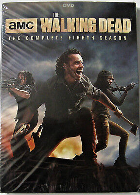 The Walking Dead: The Complete Eighth Season (DVD, 2018)