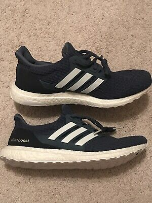 85c97f09a0642 NEW  ADIDAS ULTRA Boost 4.0 Show Your Stripes Blue White Size 10.5 ...