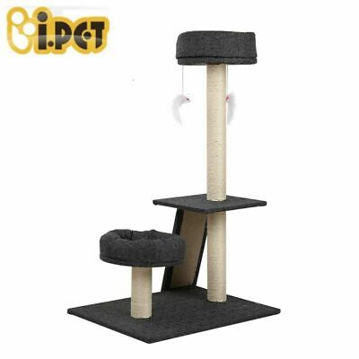 i.Pet Cat Scratching Tree Gym House Scratcher Pole Furniture Toy Medium 102cm DG