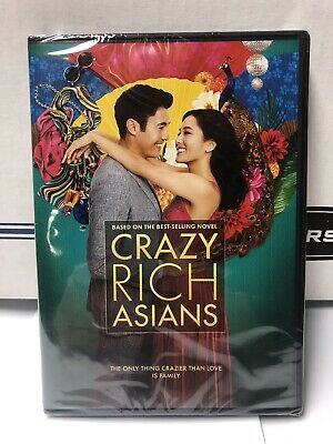 CRAZY RICH ASIANS - 2018 - NEW SEALED (DVD) Constance Wu Michelle Yeoh Gemma