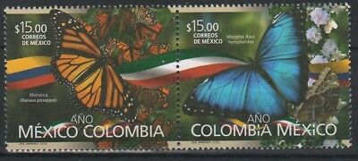 Mexico 2018 butterflies insects 2v MNH
