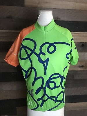 Verge Ride The Rockies Cycling Green Jersey Size Small And Shorts Size  Medium 7962e9de7