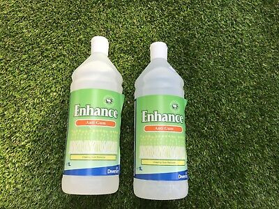 Diversey Enhance Chewing Gum Sticky Stuff Remover Wool Safe 1 Litre Carpets X 2