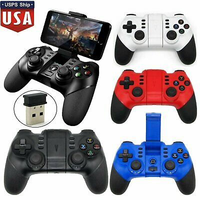 Wireless Bluetooth Gamepad Game Controller For Android iPhone Tablet TV Box Lot