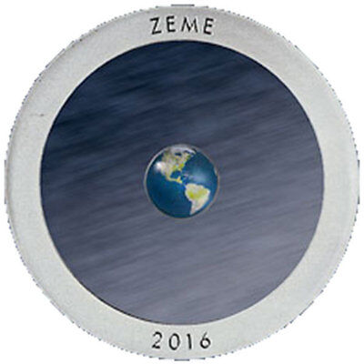 Latvia 2015 5 euro Earth Proof Silver Coin