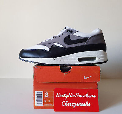 reputable site 3d8b6 a98aa Nike Air Max 1 Graphite US8 UK7 EU41 New DS OG ALL