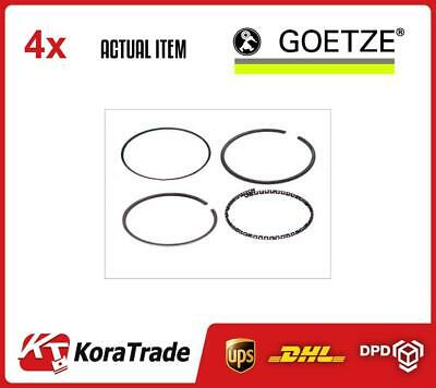 4 x GOETZE ENGINE CYLINDER PISTON RINGS KIT FOR 1 CYL. 0833440000
