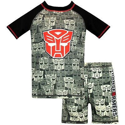 Transformers Swim Set | Boys Autobots Swimming Costume | Transformers Swimwear