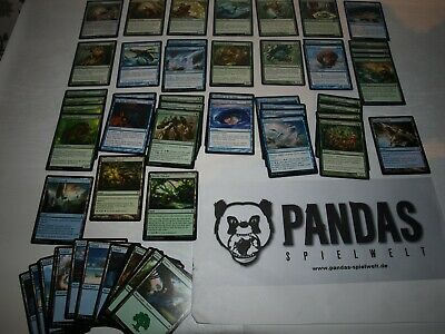 MtG Magic the Gathering u/g Landfall Deck