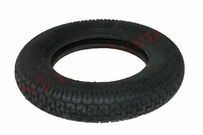 "Single Unit Front Rear MRF Lambretta Vespa 3.5"" X 10"" Rubber Wheel Tyre Tire CDN"