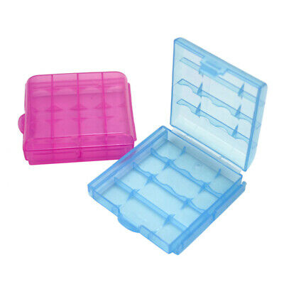 5x Plastic Case Holder Storage Box Cover for Rechargeable AA AAA Batteries New