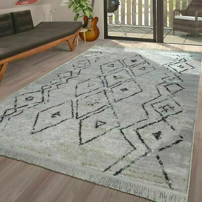 Modern Rug Traditional Abstract Moroccan Trellis Carpets Small Extra Large Mats