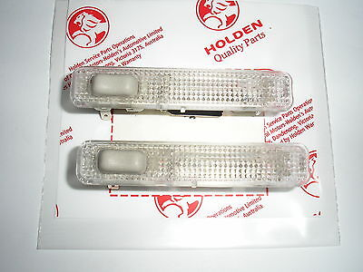 Holden Vt Vx Vy Vz Commodore/calais/hsv Rear Interior Lights X 2 New Genuine Gmh