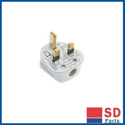 13A Plug With Fuse - Box of 4