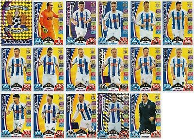Sp Fl Match Attax 2017/18 Spfl Kilmarnock 17 Card Team Base Set - No Motm Card