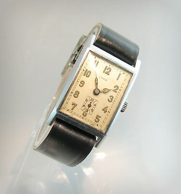 Rare WW2  EFHA  Art Deco..Cube..D.R.P pat..Swiss/Germany