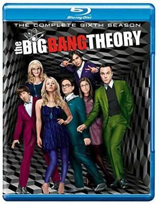 The Big Bang Theory - Season 6 [Blu-ray] [2013] [Region Free] [DVD][Region 2]