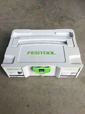 festool systainer 1 with carvex PS420 Jigsaw insert