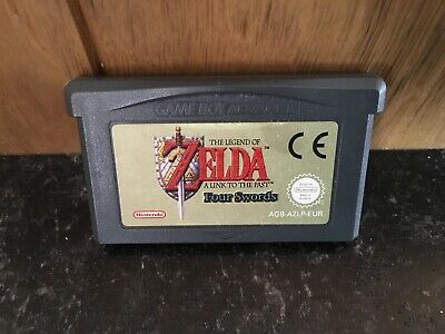 Zelda A Link To The Past Four Swords GBA Gameboy Advance Game Genuine