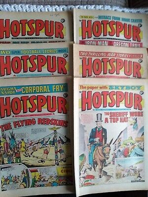 Hotspur Comic 1970 14 Consecutive Issues 571 To 584