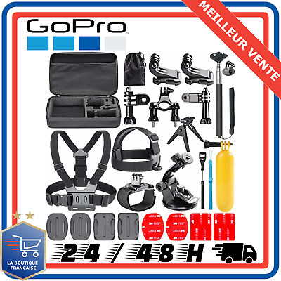 21-en-1 Kit d'Accessoire GoPro Hero 7 6 Session 5 4 3+ 3 2 1 Camera Sport SJCAM