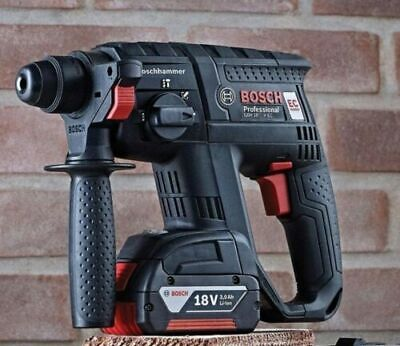 Bosch 18v Black GBH18VEC 3 Function Cordless SDS Drill Brushless - Bare Tool