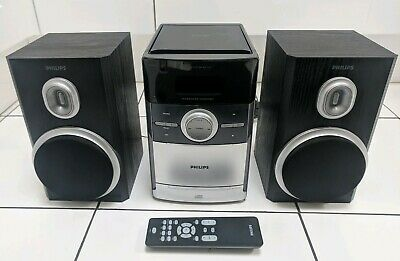 Philips MC147 /05  Micro Hifi System - Tuner - CD - Cassette Tape with Remote