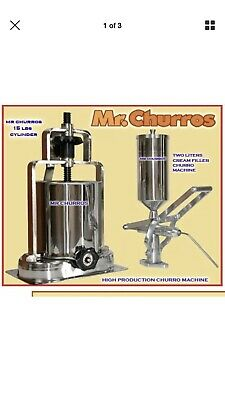 Churros Machine with Creme Filler