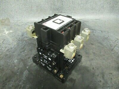 125 Amp Abb Contactor Eh80 / Eh80C-*l / Eh80C-1 600V 60Hp 3 Phase Coil: 120 Vac