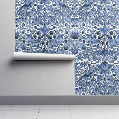 Peel And Stick Removable Wallpaper William Morris Damask