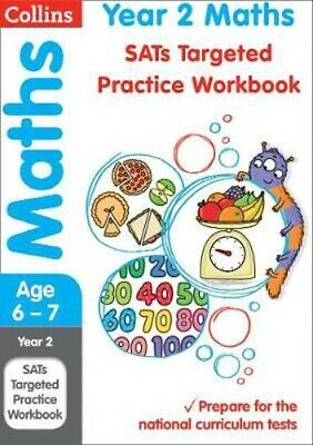 Year 2 Maths SATs Targeted Practice Workbook: 2019 Tests | Collins KS1