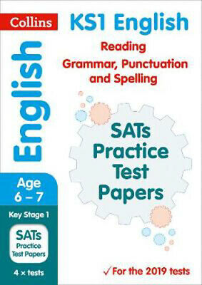 KS1 English Reading, Grammar, Punctuation and Spelling SATs Practice Test Papers