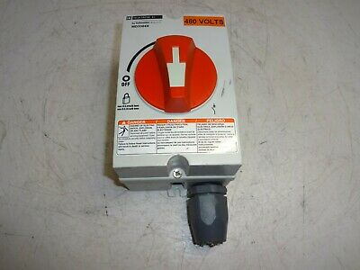 Square D Schneider Electric Md3304X Disconnect Switch 480V