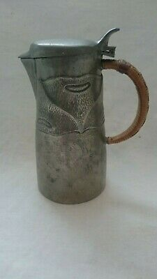 Antique Arts And Crafts Liberty Tudric Pewter Jug 0278 Knox