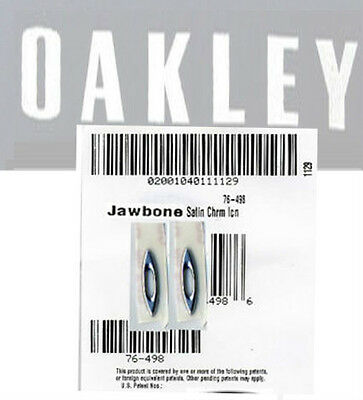 OAKLEY JAWBONE 9089 SATIN CHROME icons 2 COPPIA PAIRE PARE