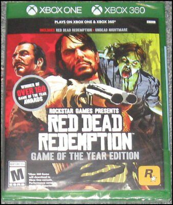 Red Dead Redemption: Game of the Year Edition - Microsoft Xbox One & 360 - New