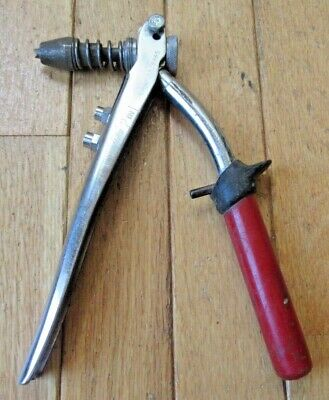 Vintage MALCO 2-in-1 Hand Riveter - Made in U.S.A.
