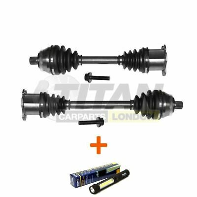 Fits VW Passat Touran Auto/DSG Gearbox Left and Right Side Driveshaft + Lamp