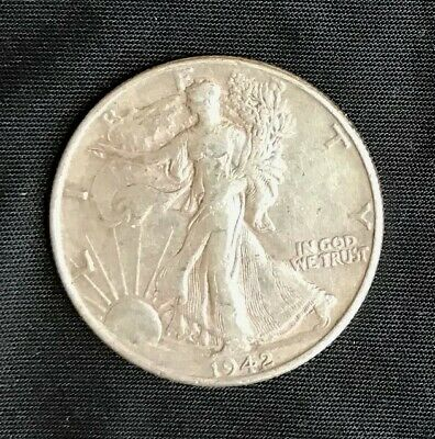 1942-P     Walking Liberty Half Dollar  You Judge The Coin