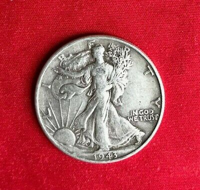 1943 P Walking Liberty Half Dollar Coin *90% Silver