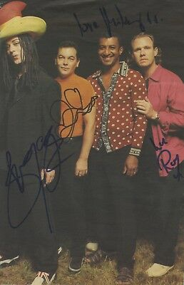 Boy George & Culture Club - British Band - In Person Signed Book Paper Picture.